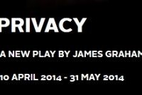 Privacy a new play by James Graham
