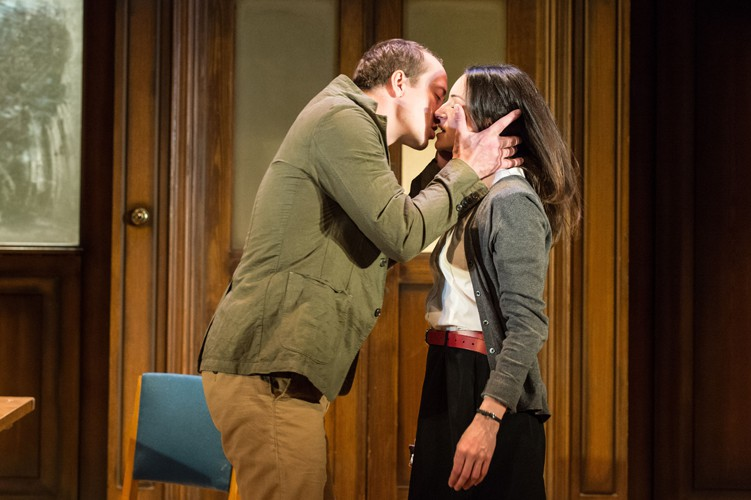 2015 West End cast - Matthew Spencer (Winston) and Janine Harouni (Julia). Photography in 1984 by Manuel Harlan
