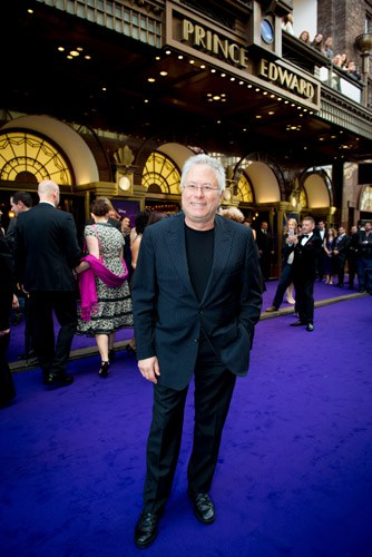 Alan Menken (Music) at Aladdin Opening Night, Prince Edward Theatre. Photographer David Tett. © Disney