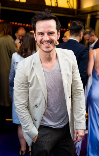 Andrew Scott at Aladdin Opening Night at Prince Edward Theatre. Photographer David Tett. © Disney