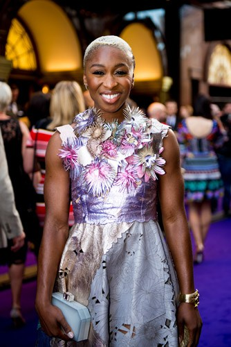 Cynthia Erivo at Aladdin Opening Night, Prince Edward Theatre. Photographer David Tett. © Disney