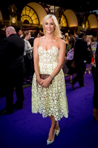 Jenni Falconer at Aladdin Opening Night, Prince Edward Theatre. Photographer David Tett. © Disney