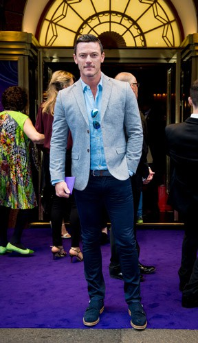 Luke Evans at Aladdin Opening Night, Prince Edward Theatre. Photographer David Tett. © Disney