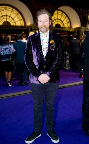Rufus Hound at Aladdin Opening Night, Prince Edward Theatre. Photographer David Tett. © Disney