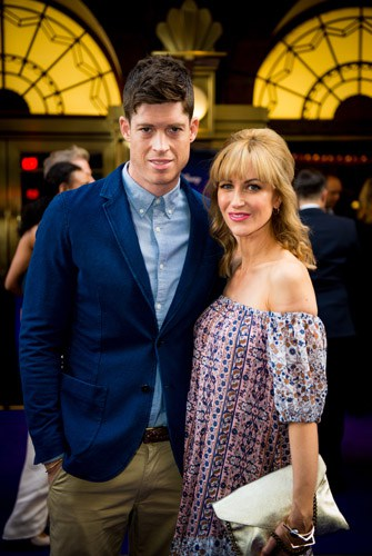Ryan Clark and Katherine Kelly at Aladdin Opening Night, Prince Edward Theatre. Photographer David Tett. © Disney
