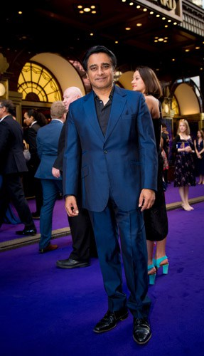 Sanjeev Bhaskar at Aladdin Opening Night, Prince Edward Theatre. Photographer David Tett. © Disney
