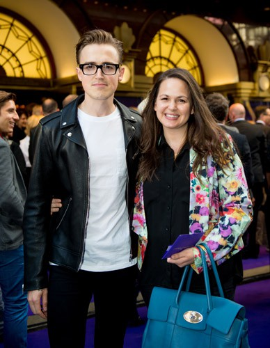 Tom and Giovanna Fletcher at Aladdin Opening Night, Prince Edward Theatre. Photographer David Tett. © Disney