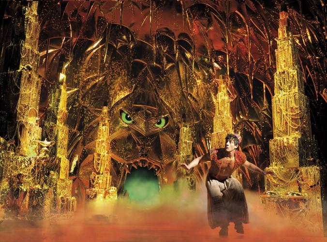 Aladdin Prince Edward Theatre Dean John-Wilson (Aladdin) Photographer Deen van Meer ® Disney