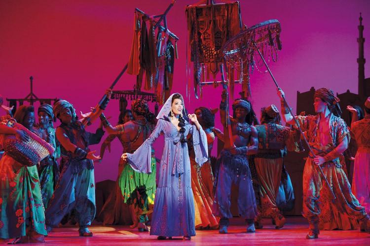 Aladdin Prince Edward Theatre Jade Ewen (Jasmine) Photographer Deen van Meer Disney