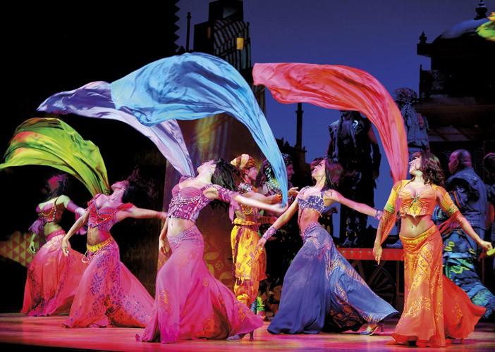 Aladdin Prince Edward Theatre Photographer Deen van Meer Disney