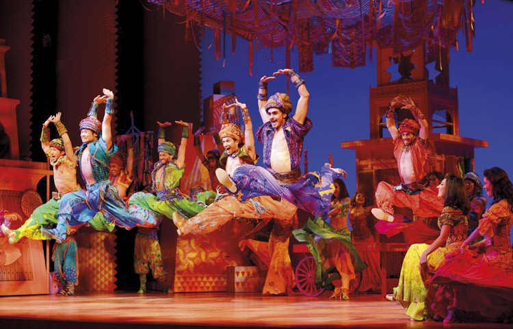 Aladdin Prince Edward Theatre. Photographer Deen van Meer. Disney