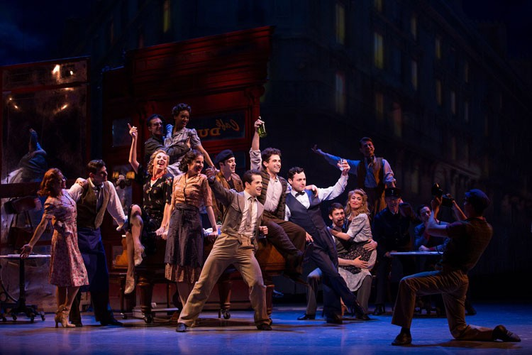 An American in Paris Original Broadway Cast Credit Matthew Murphy
