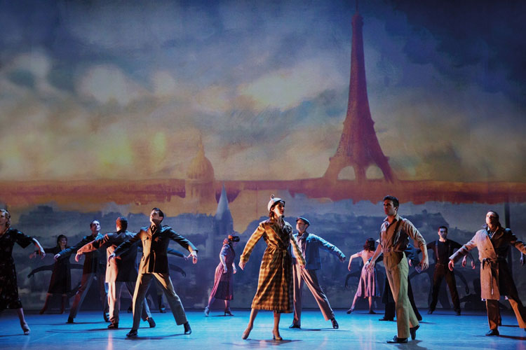 An American in Paris. Original Broadway Cast. Credit Matthew Murphy