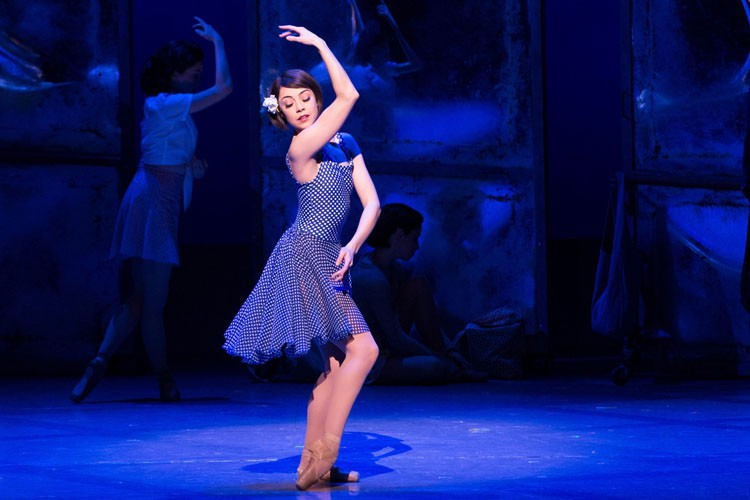 Leanne Cope in An American in Paris Original Broadway Cast Credit Matthew Murphy