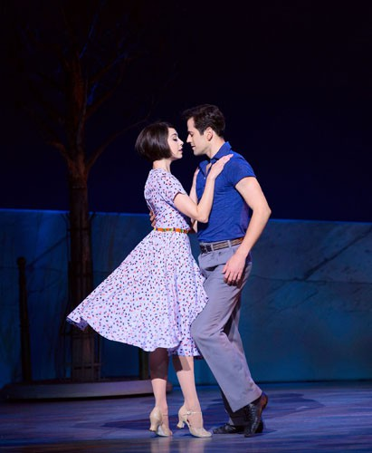 Robert Fairchild and Leanne Cope in An American in Paris. Original Broadway Cast. Credit Matthew Murphy