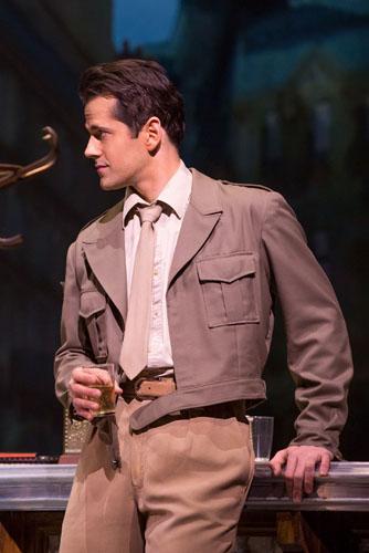 Robert Fairchild in An American in Paris. Original Broadway Cast. Credit Matthew Murphy