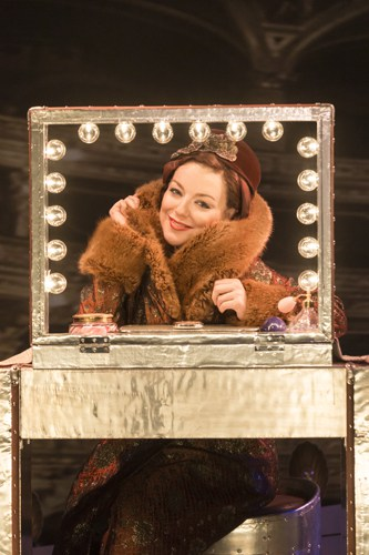 Sheridan Smith as Fanny Brice - Photo by Johan Persson