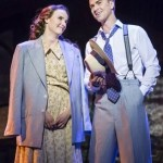 Anna-OByrne - Sarah Brown, Richard Fleeshman - Sky Masterson. Photo credit Johan Persson