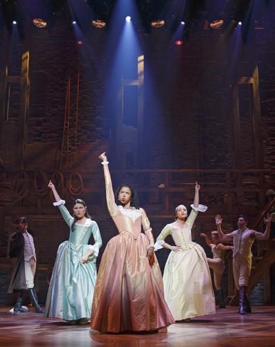 Hamilton: Richard Rodgers Theatre - Photo Joan Marcus