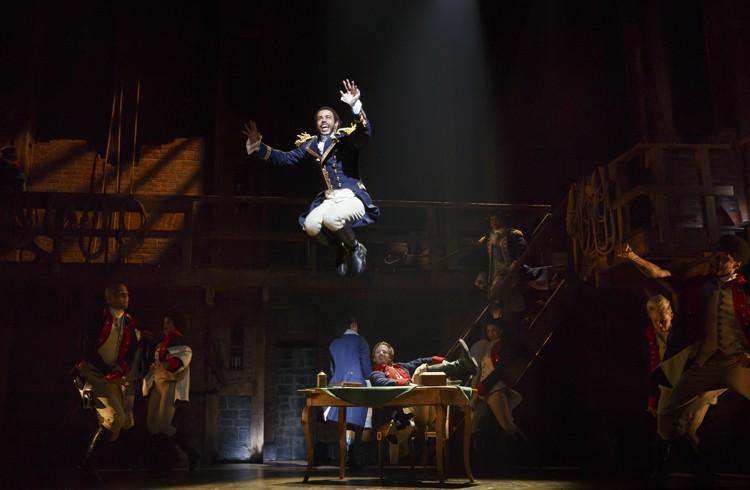 Hamilton Broadway - Daveed Diggs. Photo Joan Marcus