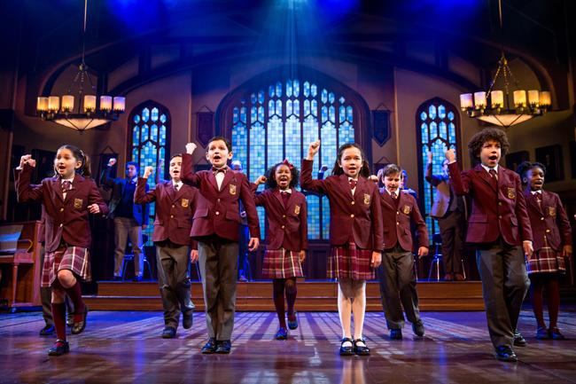 The Children's Ensemble of School of Rock - The Musical Photo by Matthew Murphy
