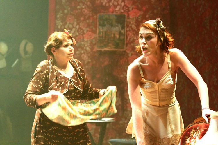Debbie Chazen (Bodey) and Laura Rogers (Dorothea). Photo credit Catherine Ashmore