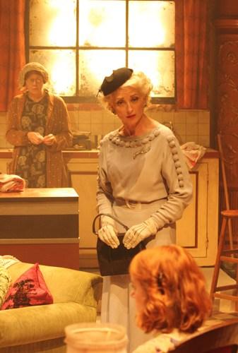 Julia Watson (Miss Gluck), Hermione Gulliford (Helena) and Laura Rogers (Dorothea). Photo credit Catherine Ashmore
