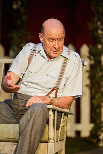 All My Sons at the Rose Theatre, Kingston. David Horovitch (Joe Keller). Photo by Mark Douet.