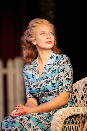 All My Sons at the Rose Theatre, Kingston. Francesca Zoutewelle (Ann Deever). Photo by Mark Douet.