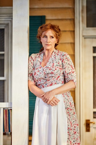 All My Sons at the Rose Theatre, Kingston. Penny Downie (Kate Keller). Photo by Mark Douet.