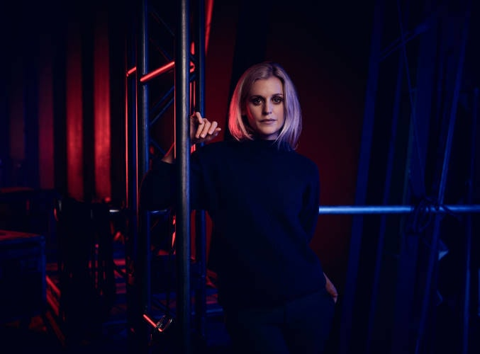 Denise Gough - Photography by Jason Bell. Art Direction and design by National Theatre Graphic Design Studio
