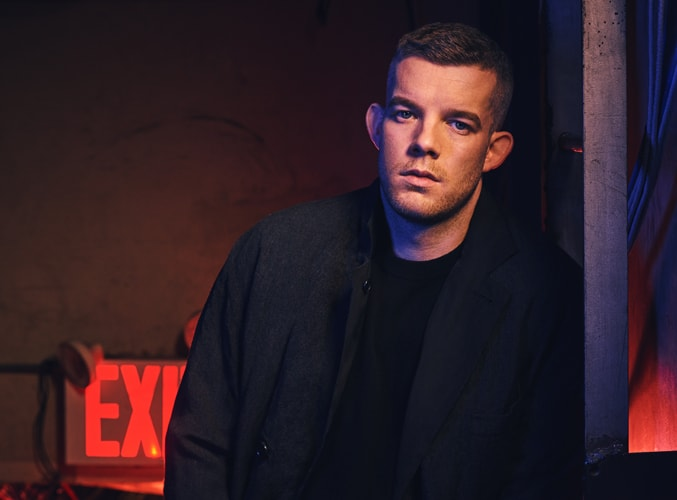 Russell Tovey - Photography by Jason Bell. Art Direction and design by National Theatre Graphic Design Studio