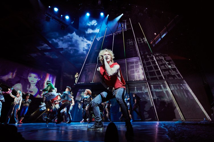 Andrew Polec as Strat in Bat Out of Hell, credit Specular