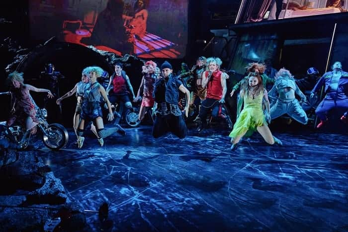 The cast of BAT OUT OF HELL - THE MUSICAL, credit Specular