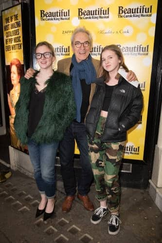 Larry Lamb and daughters (photo by Craig Sugden)