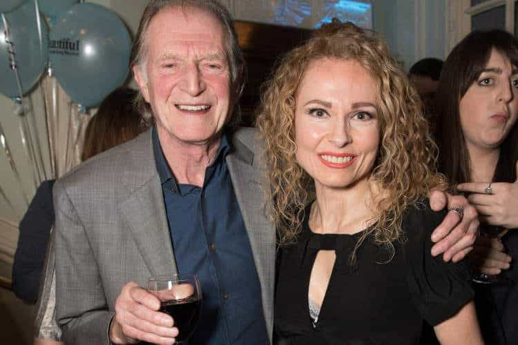 l-r David Bradley, Barbara Drennan (photo Craig Sugden)