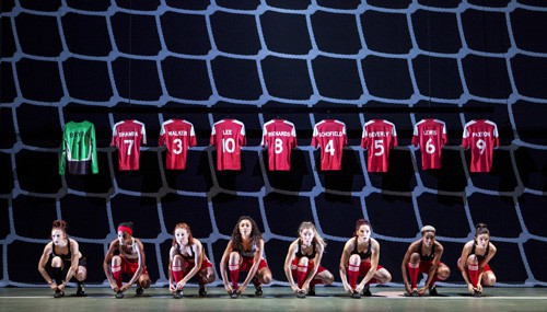 Hounslow Harriers in Bend It Like Beckham The Musical Photo credit Ellie Kurttz