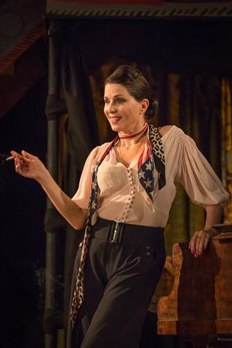 Britten in Brooklyn - Sadie Frost (Gypsy Rose Lee) Photo Marc Brenner