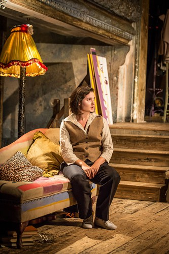Britten in Brooklyn - Ruby Bentall (Carson McCullers) Photo Marc Brenner