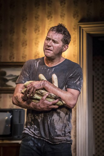 Barnaby Kay in Buried Child, Trafalgar Studios, photo Johan Persson