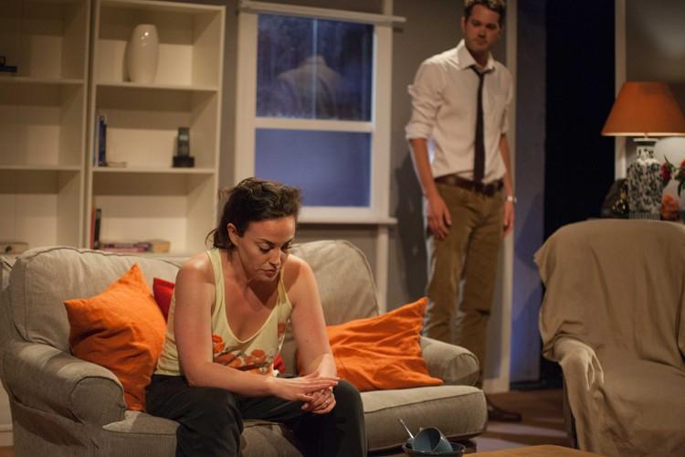 Anne Adams (Kate) Simon Bubb (Dan) Credit Sam Taylor