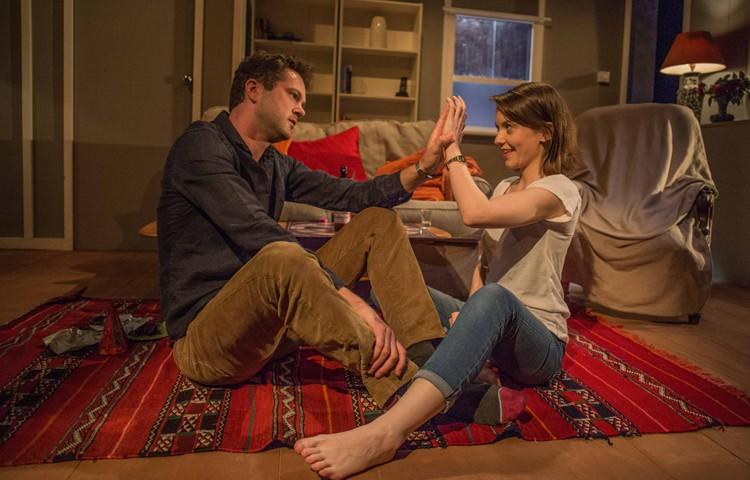 Simon Bubb (Dan) Rae Brogan (Sarah) Credit Sam Taylor