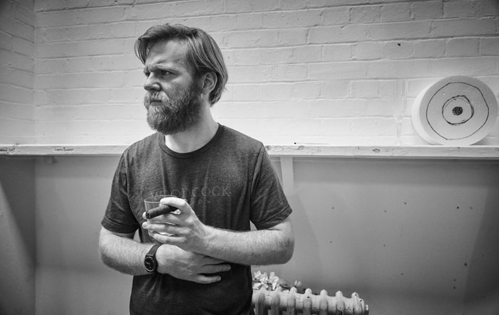 Brian Gleeson in rehearsal for Cat on a Hot Tin Roof. Photo by Charlie Gray