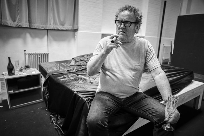 Colm Meaney in rehearsals for Cat on a Hot Tin Roof. Photo by Charlie Gray