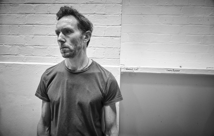 Richard Hansell in rehearsal for Cat on a Hot Tin Roof. Photo by Charlie Gray
