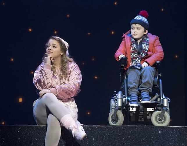 L-R Carrie Hope Fletcher (Brenda Payne) & Dan Mclellan (William Trundle) - The Christmasaurus Live - Eventim Apollo - (c) Alastair Muir
