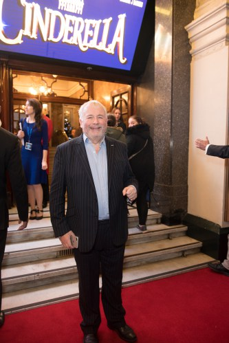 Christopher Biggins at the Opening Night of Cinderella at the London Palladium - Photo credit Craig Sugden