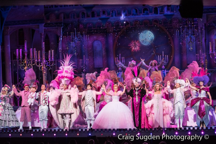 Curtain call for the cast of Cinderella at the London Palladium - Photo credit Craig Sugden