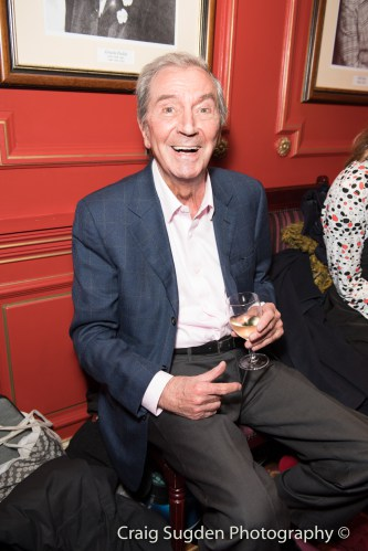 Des O'Connor at the Opening Night of Cinderella at the London Palladium - Photo credit Craig Sugden