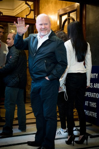 Steve McFadden at the Opening Night of Cinderella at the London Palladium - Photo credit Craig Sugden